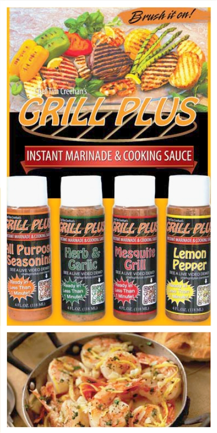 Grill Plus Instant Marinade and Cooking Sauce