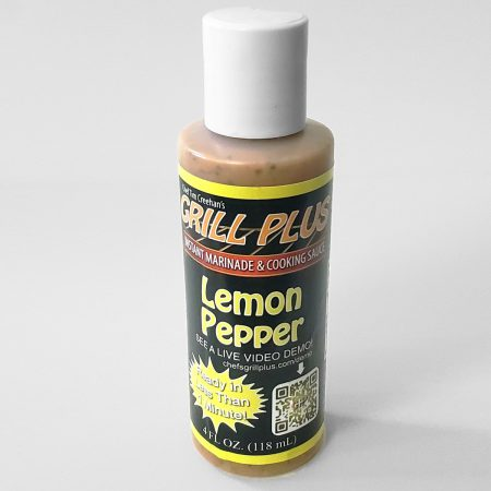 Lemon Pepper Flavor | Grill Plus Instant Marinade